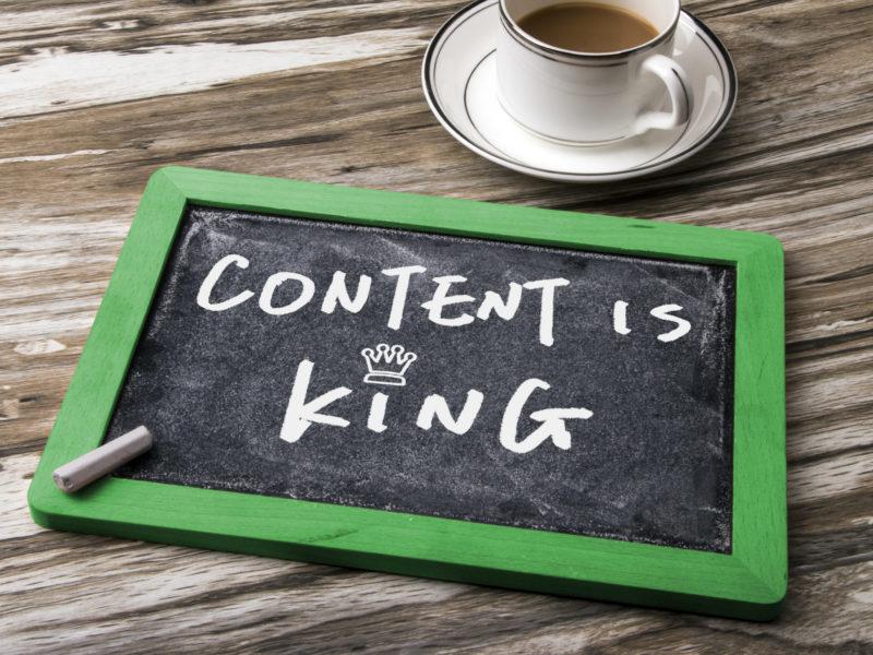 Weil Inhalt zählt – werde Teil unseres Redaktionsteams!