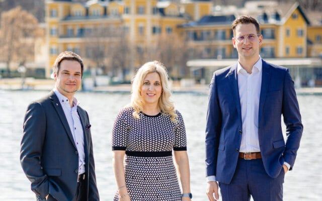 Markus Taferner, Anna Sterba und Hannes Wiegle beraten Sie gerne.