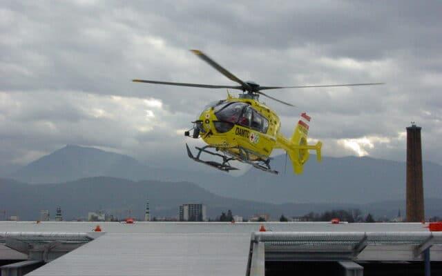 Notarzt-Hubschrauber