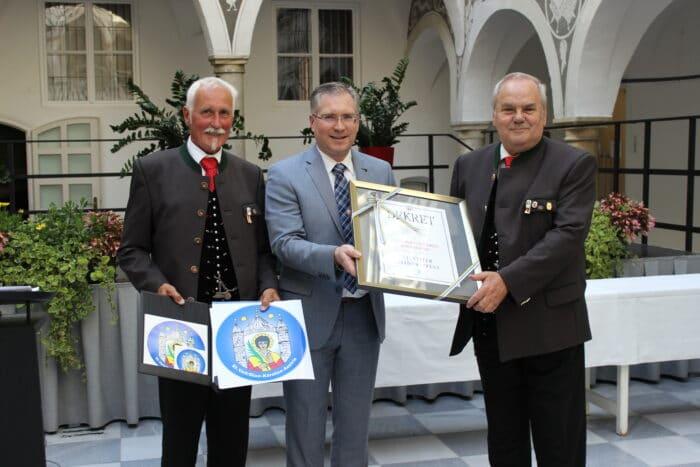Stadtwappen-Verleihung